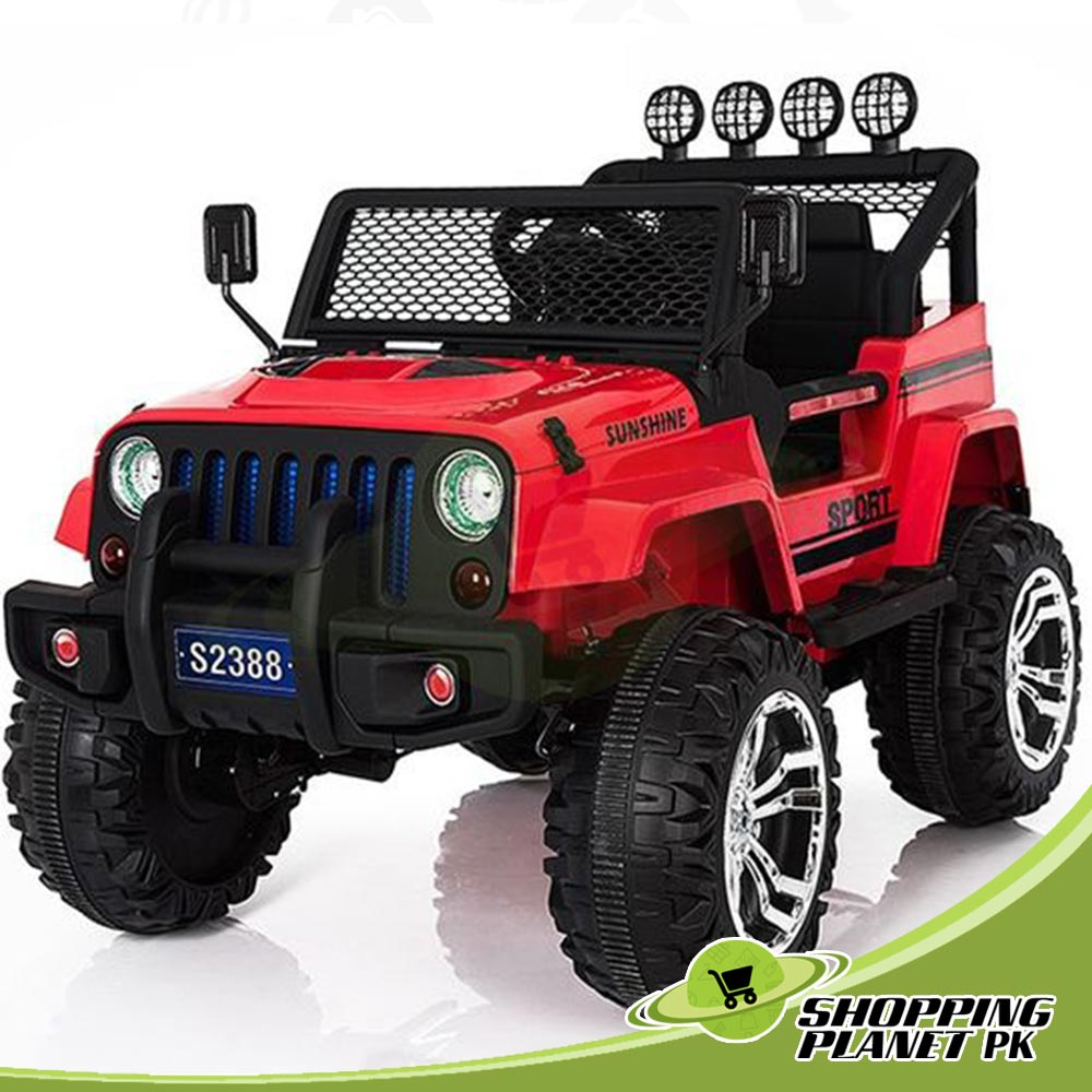 Battery Operated S2338 Jeep For Sale in Pakistan