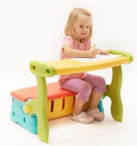 3 in 1 Adjustable Study Table For Kids