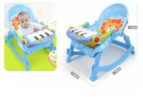 Baby Pedal Gym Chair With Rocker In Pakistan