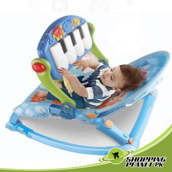 Baby Pedal Gym Chair With Rocker