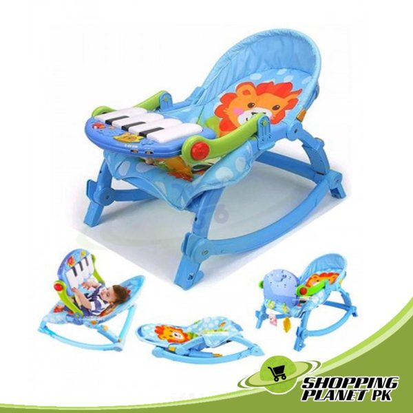 Baby Pedal Gym Chair With Rockers
