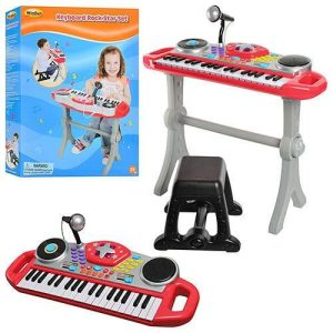 Win-fun Keyboard Rock Star Set For Kid,