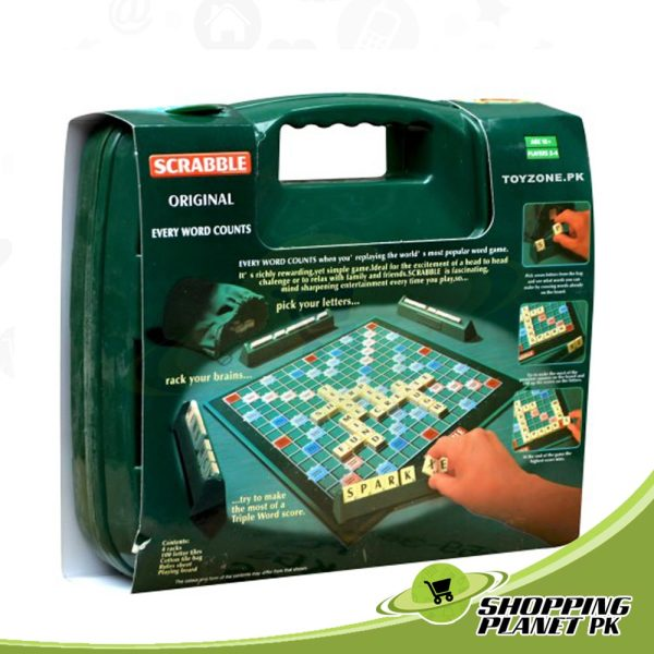 Original Scrabble Board Game For Kids