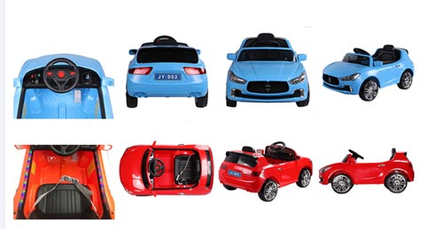Battery Operated Car JY-D02 For Kids