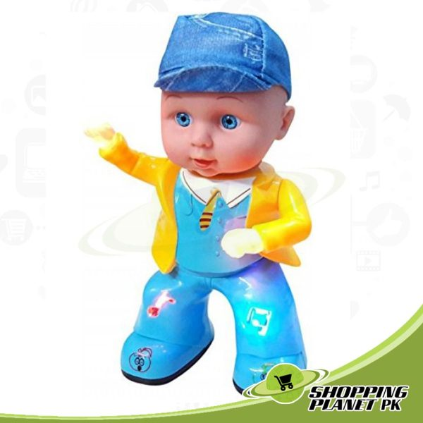 Cute Apple Girl Dancing Doll Toy For Kids,