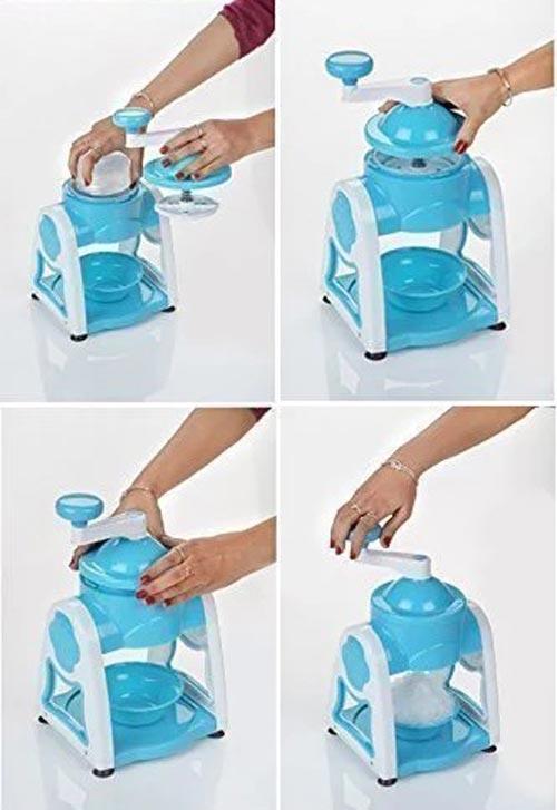 Manual Ice Cursed Machine