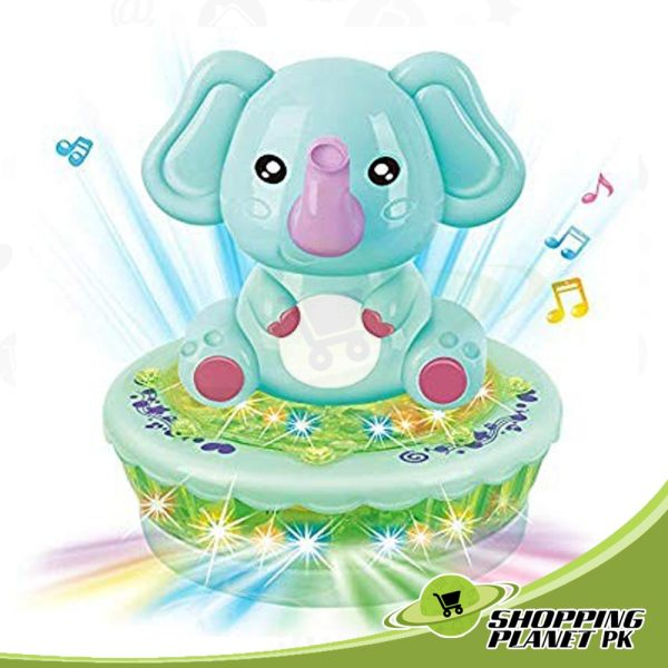 Cute Rotating Elephant Toy For Kids