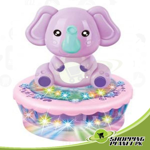 Cute Rotating Elephant Toy For Kidsss