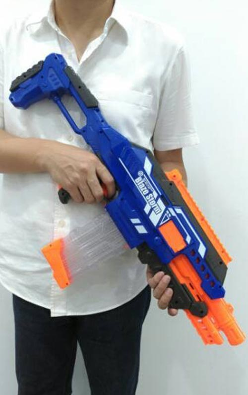 Blaze Shooting Soft Ball Gun Toy For Kids