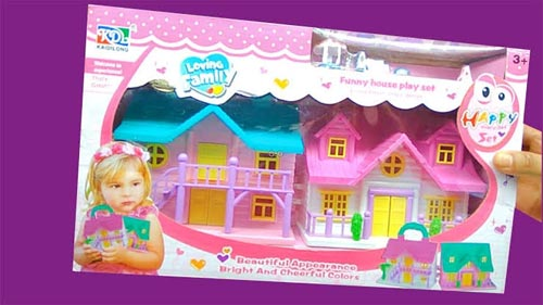 Funny Doll House Play Set Toy For Kids