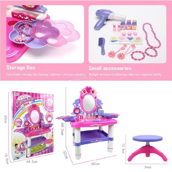 Girls Dressing Table Toy Set For Kids