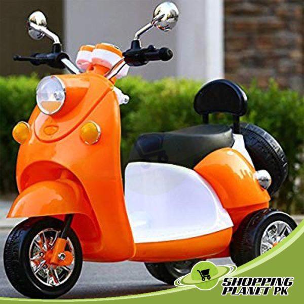 Battery-Operated–Motorbike