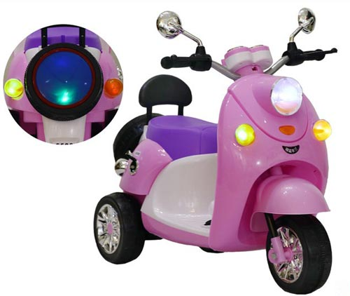 Battery Operated Vespa Motorbike For Kids