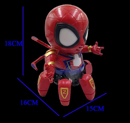 Dance Hero Spider Robot Toy For Kids