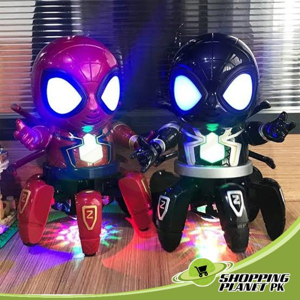 Dance Hero Spider Robot Toy For Kids..