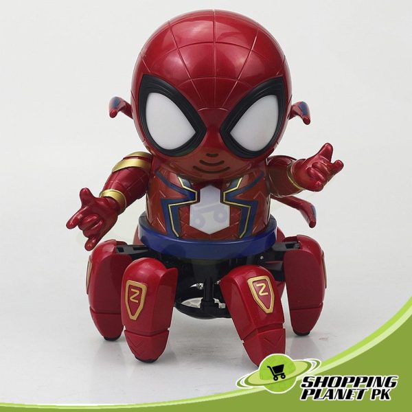 Dance Hero Spider Robot Toy Kids