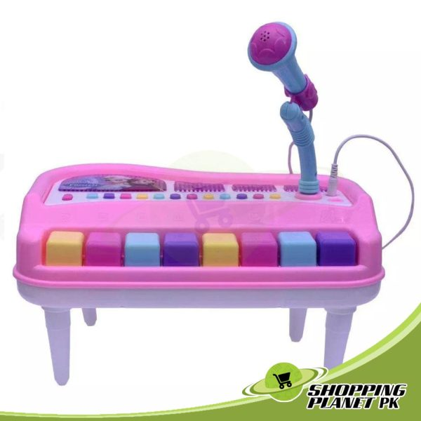 Hello Kitty Music Piano With Microphone Toy For Kid