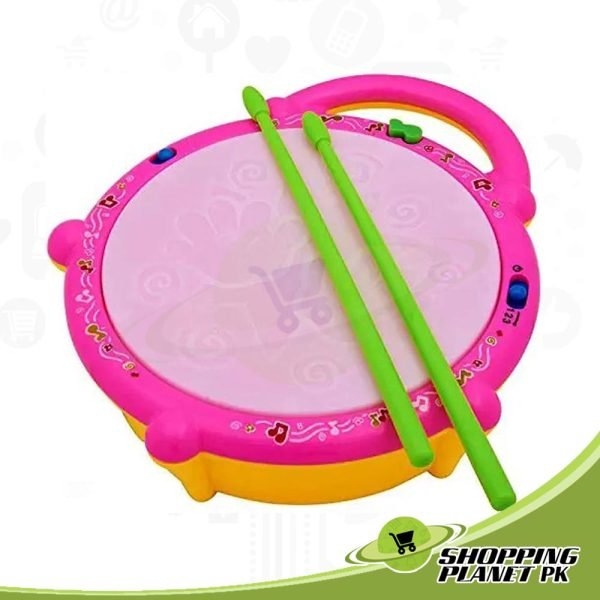New Music Flash Drum Toy For Kids.