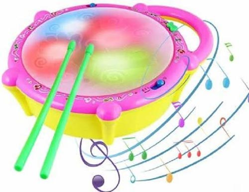 New Music Flash Drum Toy For Kids