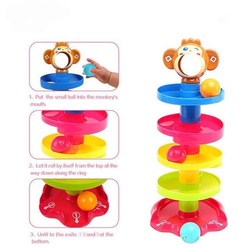 Rolling Ball Game Toy For Kids