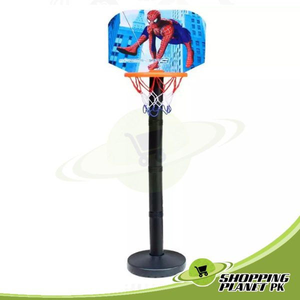 Spider-man Basketball With Stand Game For Kid.