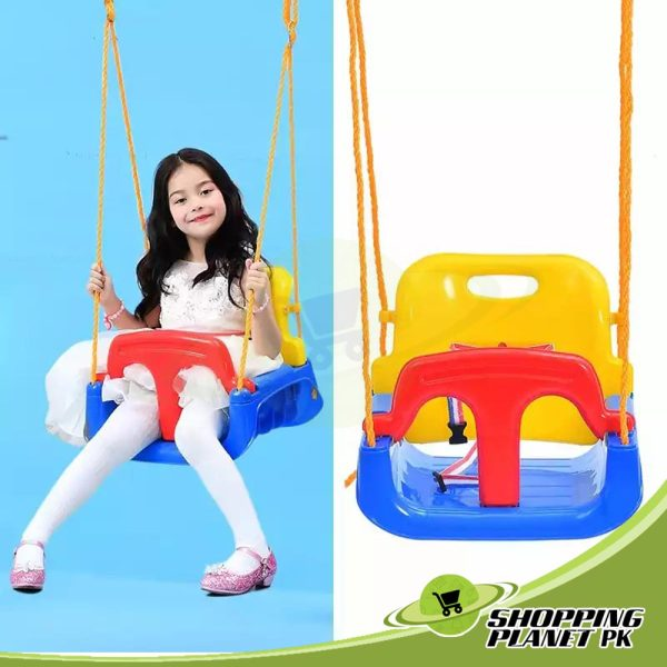3-in-1 Hanging Swing Set For Kids