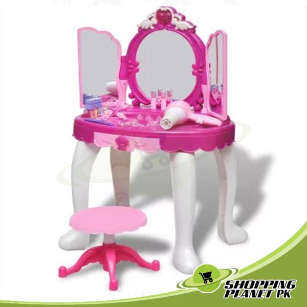 Glamour Mirror and Dressing Table Toy For Kid.