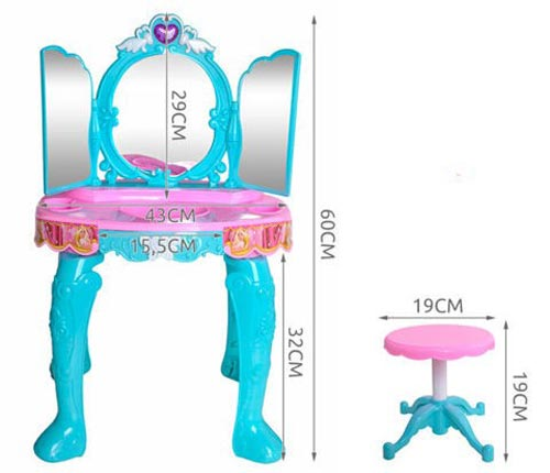 Glamour Mirror and Dressing Table Toy For Kids