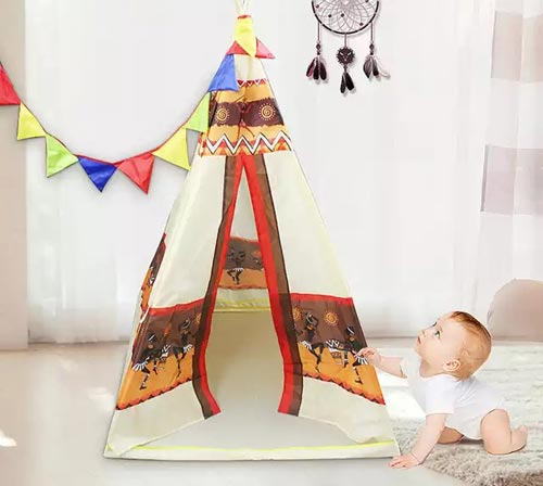 New Teepee Tent House For Kids