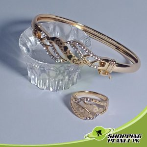 Beautiful Bracelet  With Ring Jewellry In Pakistan