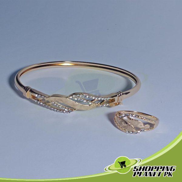 Beautiful Bracelet With Ring Jewellry In Pakistan,,