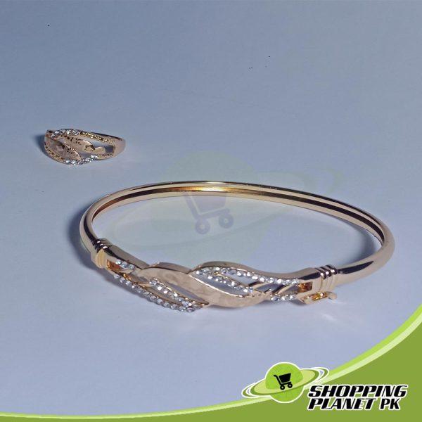 Beautiful Bracelet With Ring Jewellry In Pakistan.
