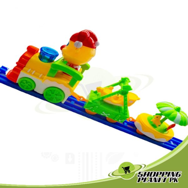 Cartoon Circus Trains Toy For Kid