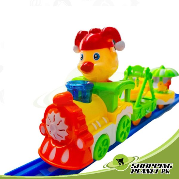 Cartoon Circus Trains Toy For Kidss