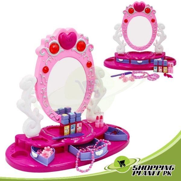 Dresser and Mirror Beauty Set