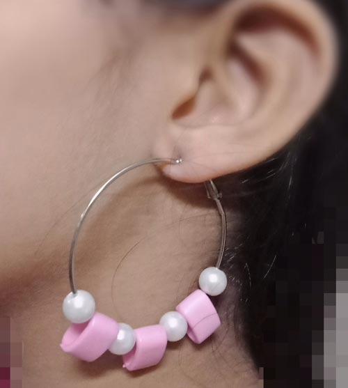 Hoop Pearl Earrings In Pakistan