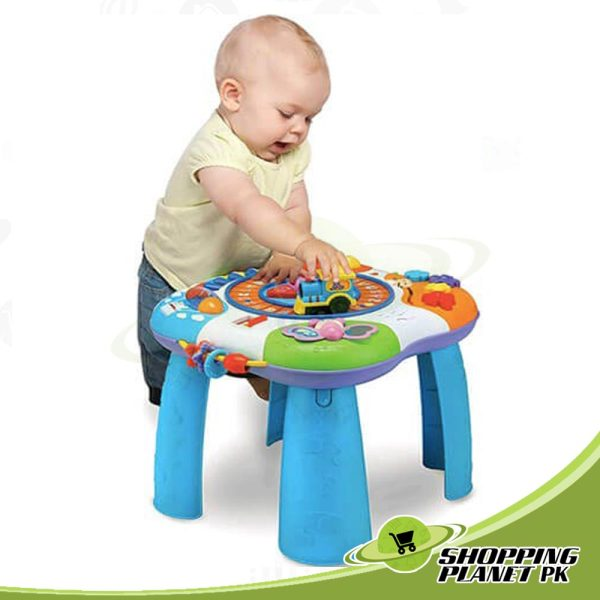 Letter Train And Piano Activity Table For Baby,