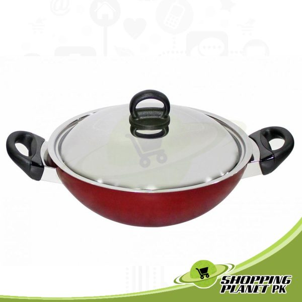 Prestige Classique Kadai With Lid For Kitchens