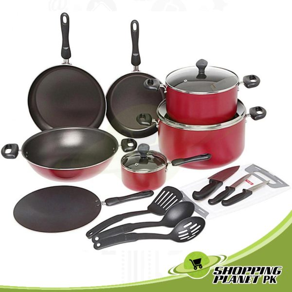 Prestige Non Stick Cookware 17 Pieces Set