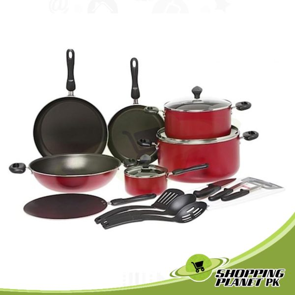 Prestige Non Stick Cookware 17 Pieces Sets