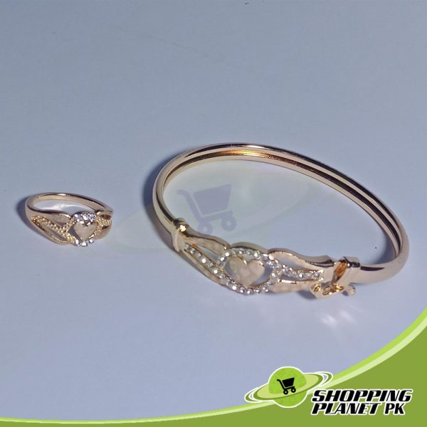 Bracelet + Ring Artificial Jewellery In Pakistan.