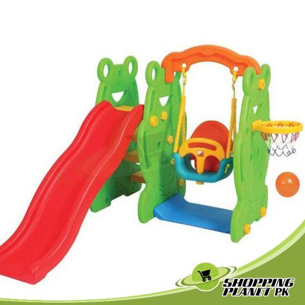 Edu Play Swing With Slide Set For Kids