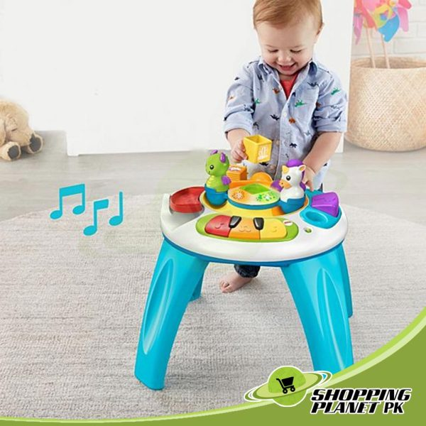 Fisher Price Musical Activity Table For Baba