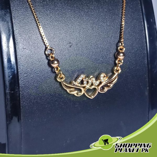 Love Pendant Chain Artificial Jewellery In Pakistans.,.