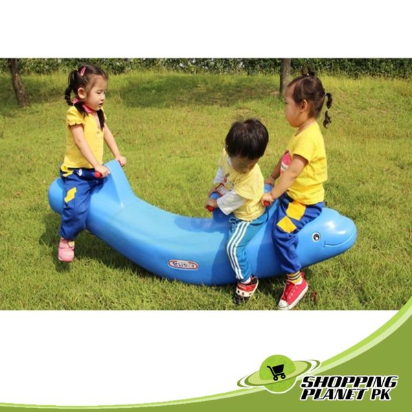 Cute Dolphin See Saw Swing For Kids In Pakistanس۔