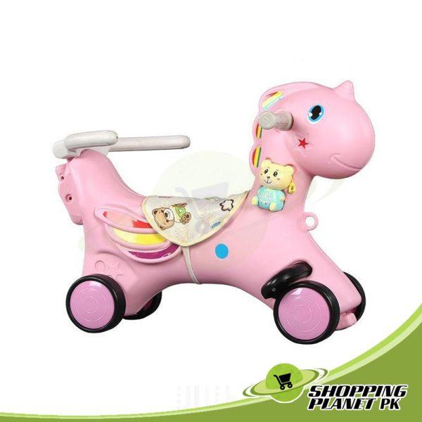 2 In 1 Unicorn Rocking Horse For Baba