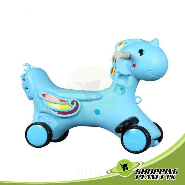 2 In 1 Unicorn Rocking Horse For Baba.