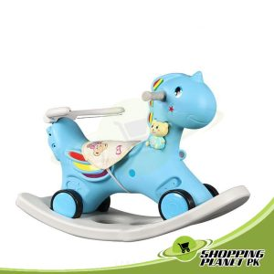 2 In 1 Unicorn Rocking Horse For Baby