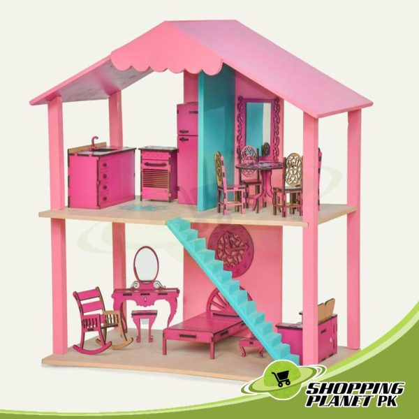 Baby Doll House Wooden In Pakistan