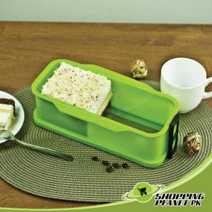 Silicone Cake Pan With Glass Base In Pakistan